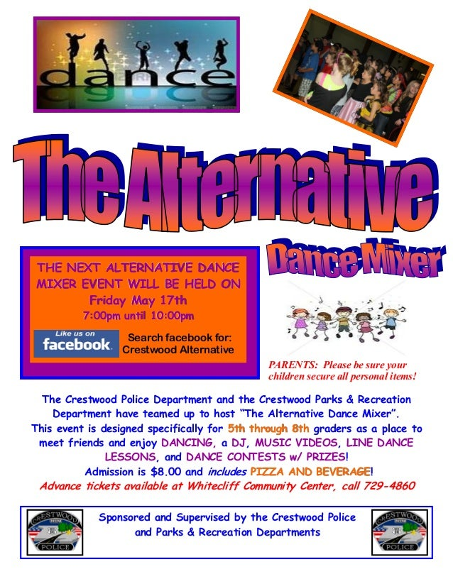 Alternative Dance Mixer 2013