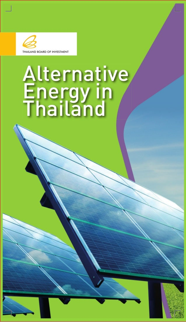Alternative Energy in Thailand