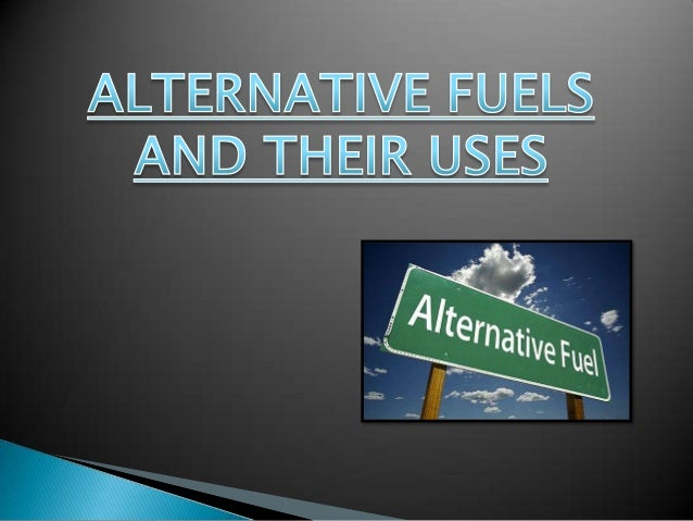 How would you conclude this research paper written on alternative fuels?