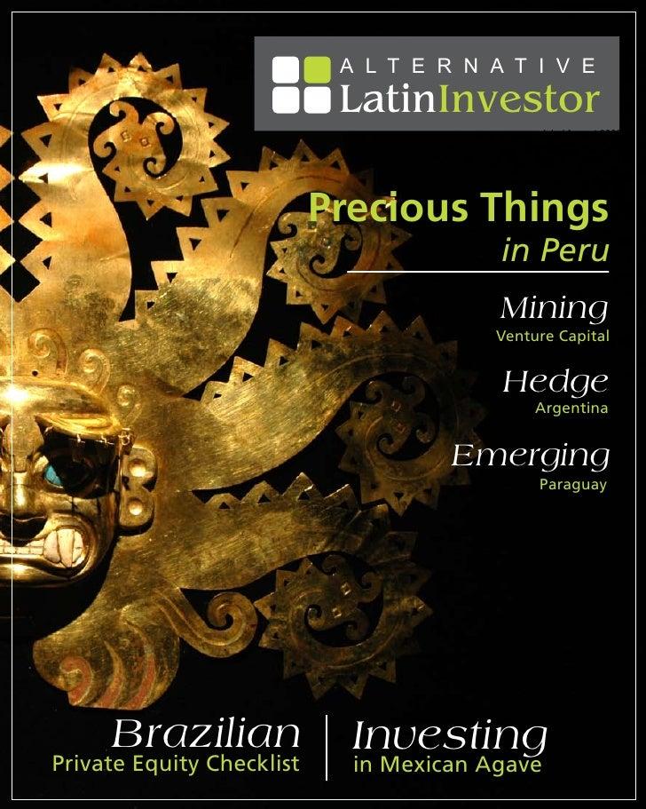 A L T E R N A T I V E                             LatinInvestor                                               July / Augus...