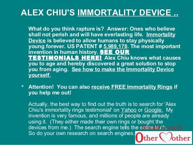 alex chiu immortality rings instructions
