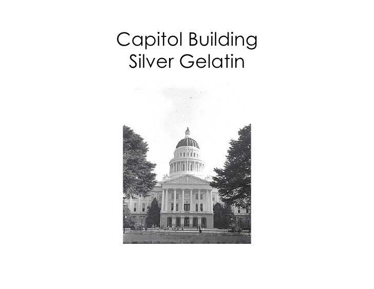 Capitol Building Silver Gelatin