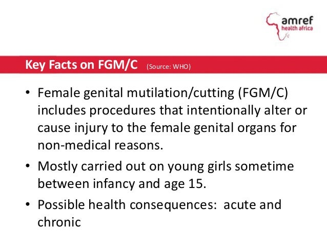 "female genital mutilation 3 essay Free essay: female genital mutilation: barbaric custom or cultural rite ""i was   as three who are subject to this procedure, have led to legislation making fgm."