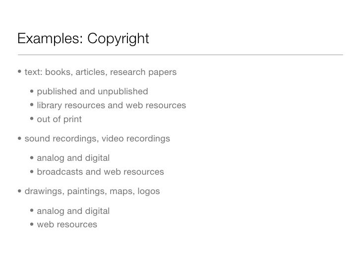 Copyright free research paper for sale