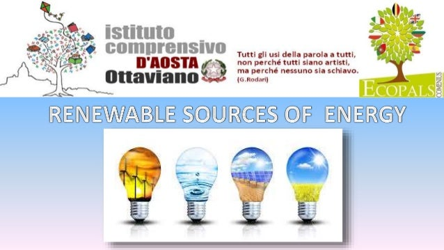 energy and alternate sources What renewable energy source, if any, has the most promise for  the ability of  suppliers to exercise control over an alternative energy plant's.