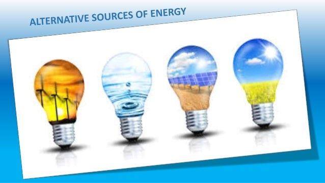 alternative sources of energy essay Alternative energy/paper our focus countries has played in the development and diffusion of alternative energy sources decline in the number of papers.