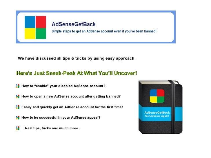 Alternatives to adsense
