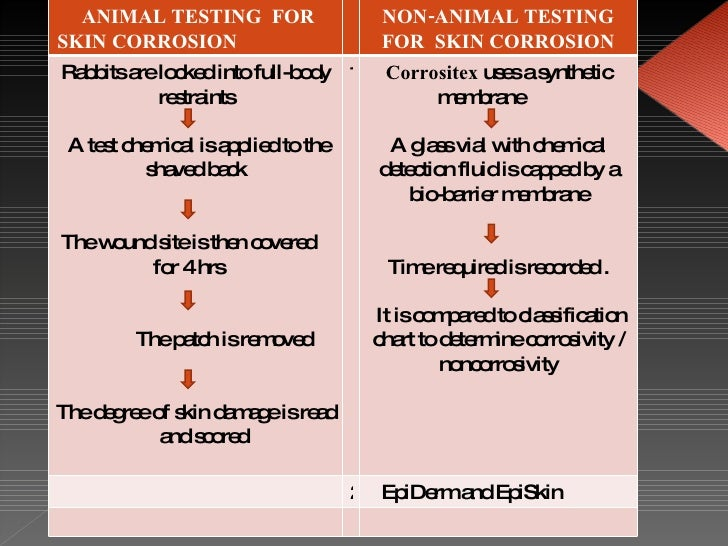 animal testing: synthetic skin essay These alternatives to animal testing include sophisticated tests using human cells   to assess the potential of a substance to cause a skin allergy in humans that.