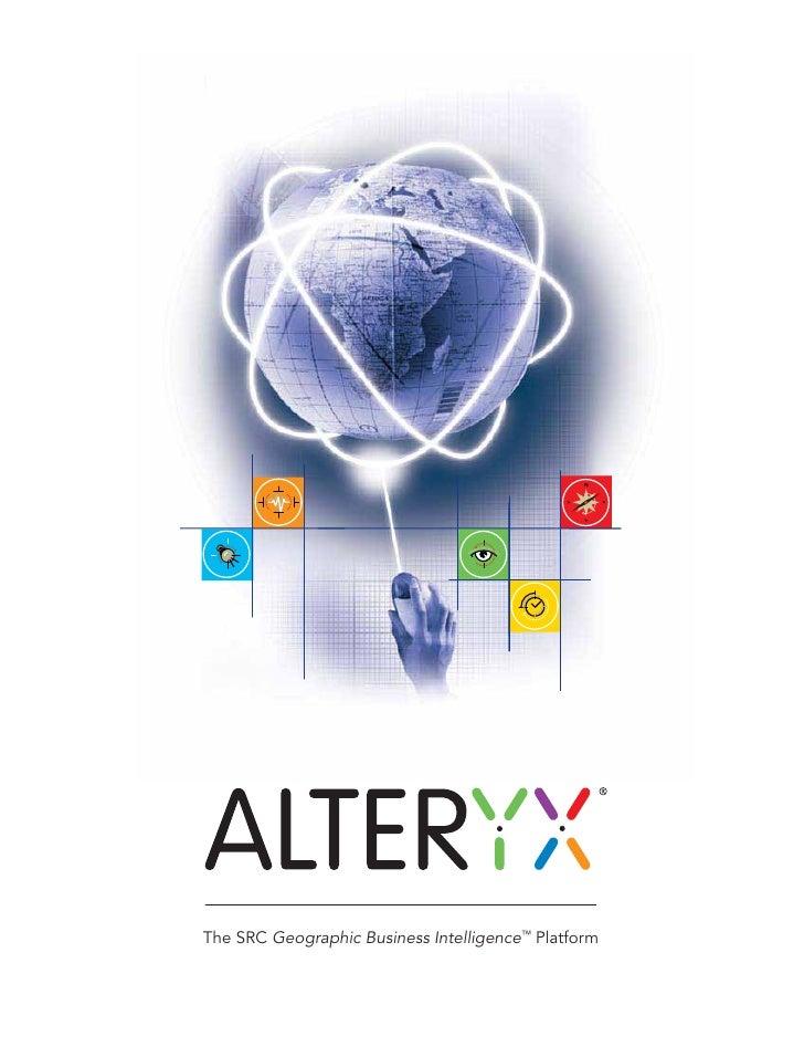 Alteryx (Tri Fild) Brochure V2 Low Res