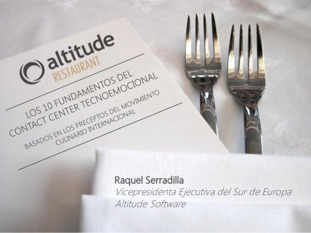 Altitude en Contact Center Telefónica