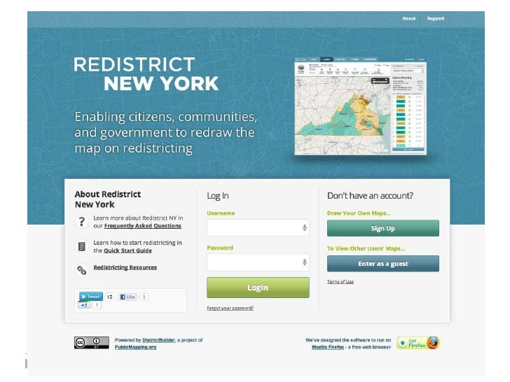 1   Prepared for: New York Redistricting Project
