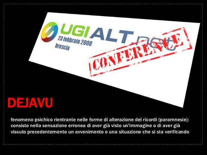 UGIALT.net Keynote