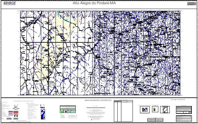 Mapa de Alto alegre do pindare