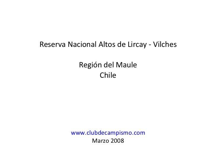 Altos De Lircay