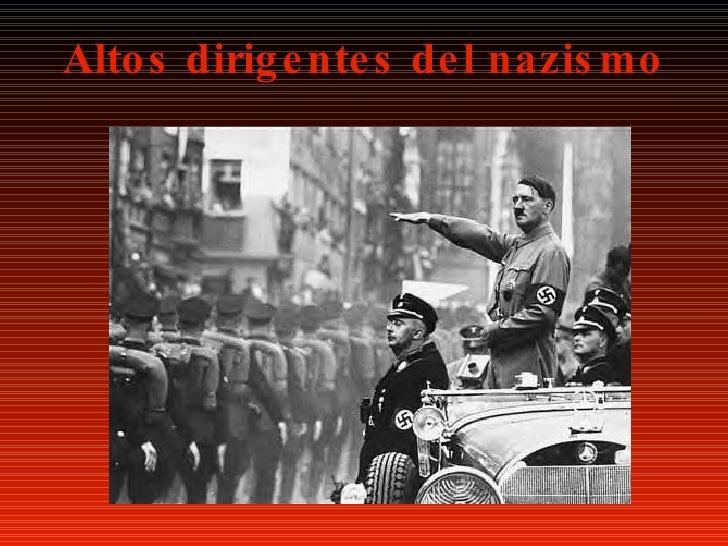 Altos dirigentes del nazismo