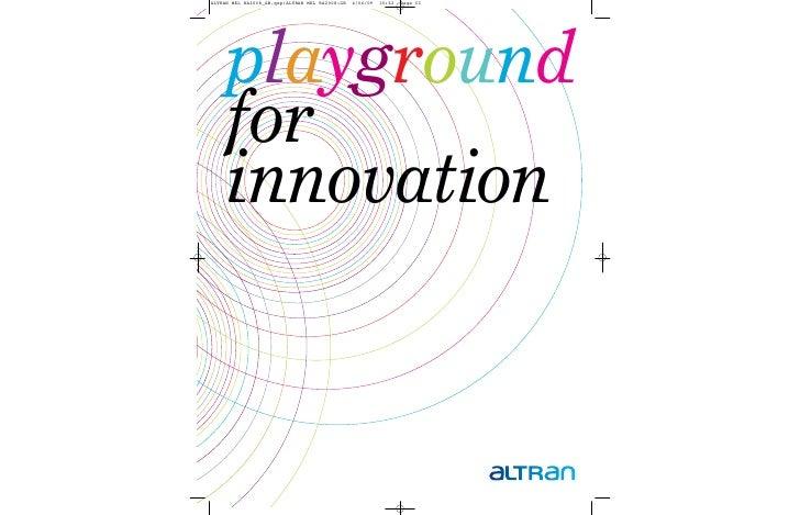 playground for innovation