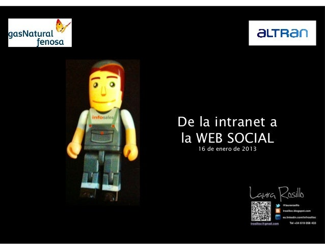 De la INTRANET a la WEB SOCIAL