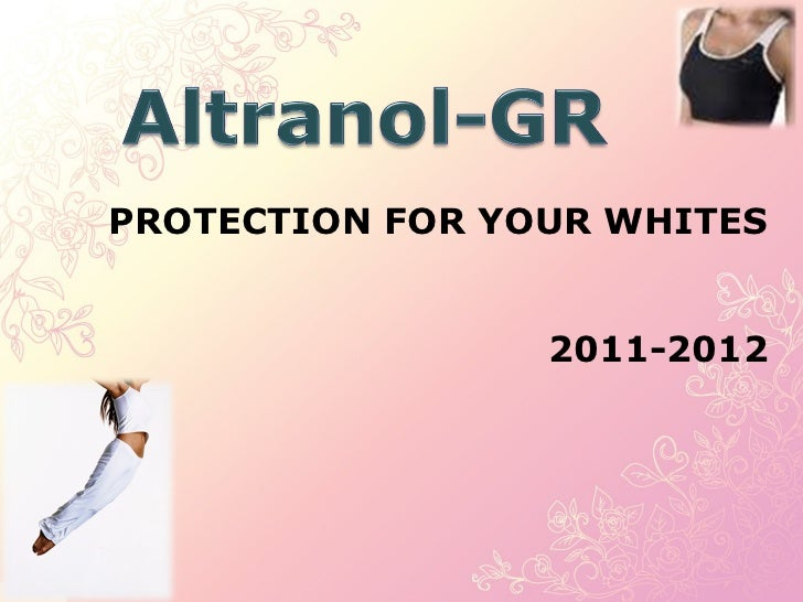 PROTECTION FOR YOUR WHITES 2011-2012