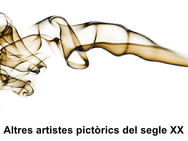 Altres artistes