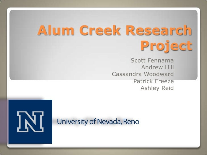Alum Creek Research Project