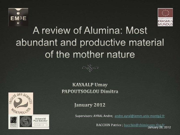 Alumina membranes final presentation