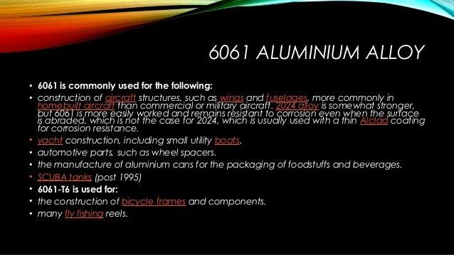 Aluminium alloys applications