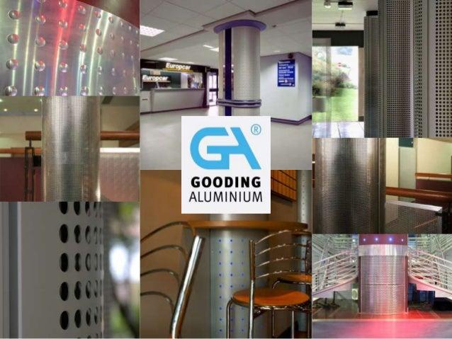 Aluminium Column Casings from Gooding Aluminium