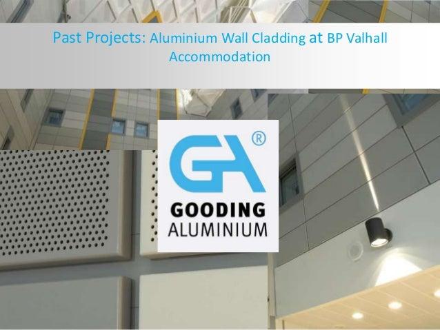 Aluminium Wall Cladding at BP Valhall Accommodation