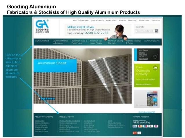 Aluminium Products from Gooding Aluminium