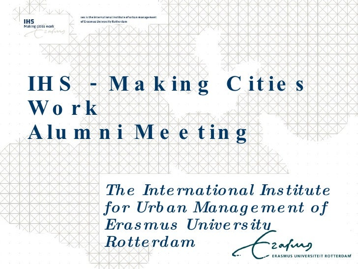 Alumni Meeting Presentation
