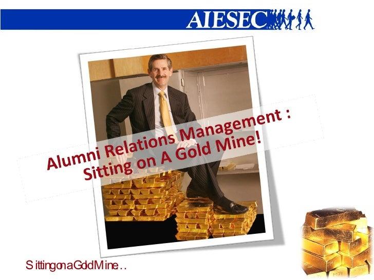 Alumni Relations Management in AIESEC