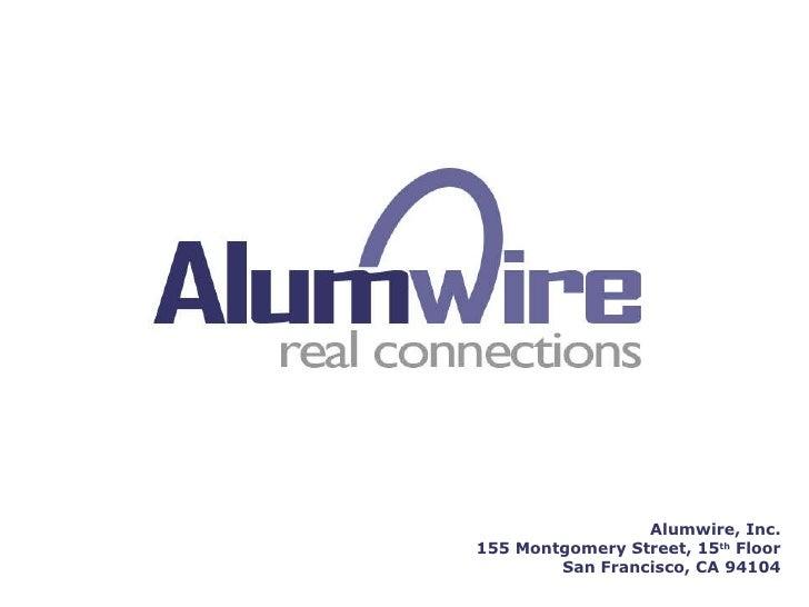 Alumwire Platform