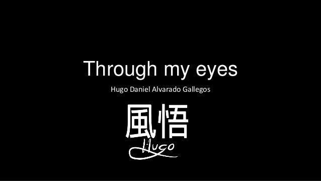 Through my eyesHugo Daniel Alvarado Gallegos
