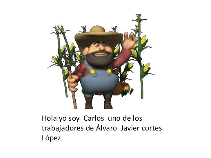 Hola yo soy  Carlos  uno de los trabajadores de Álvaro  Javier cortes  López<br />