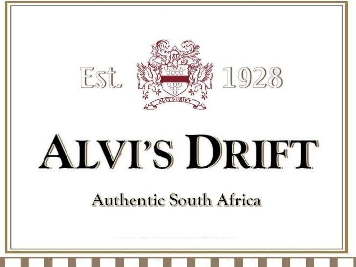 Alvis Drift Presenter