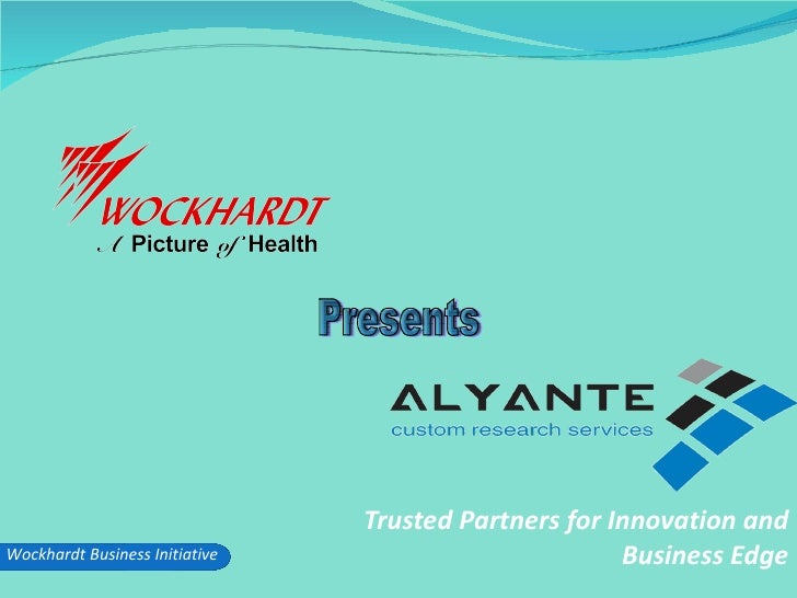 Trusted Partners for Innovation and Business Edge Presents