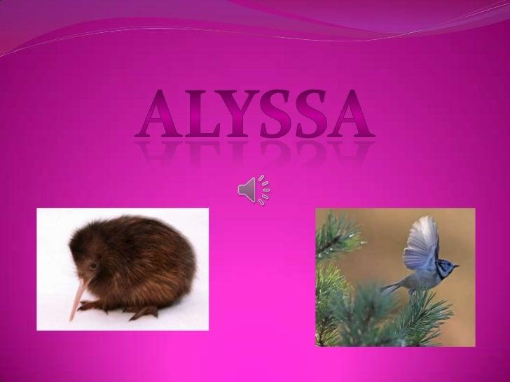 Alyssa's Totem-Pole