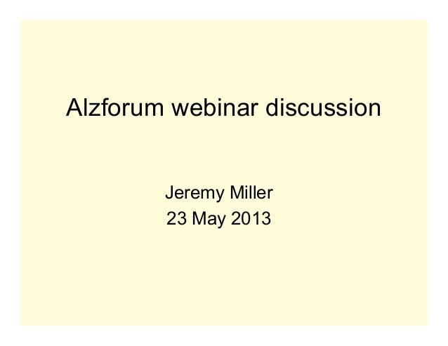 Alz forumslides jam2