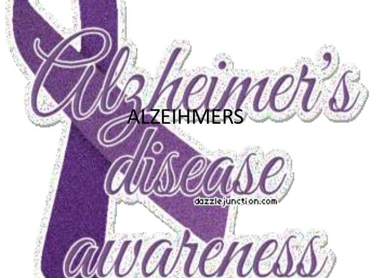 Alzheimer powerpoint