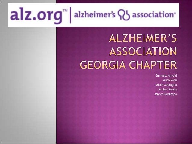 Alzheimers' association georgia chapter
