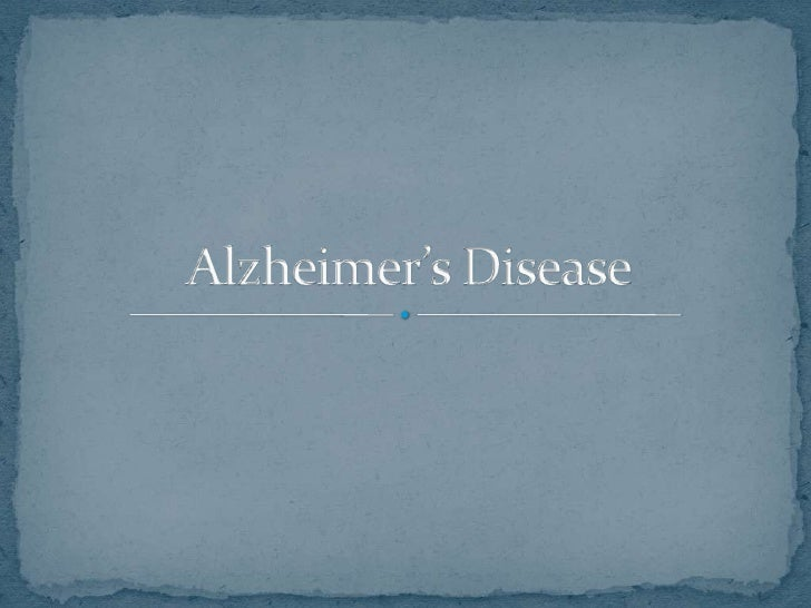 Alzheimer's disease occurs when the brain begins to  develop plaques (structures that are formed when  axons and dendrit...