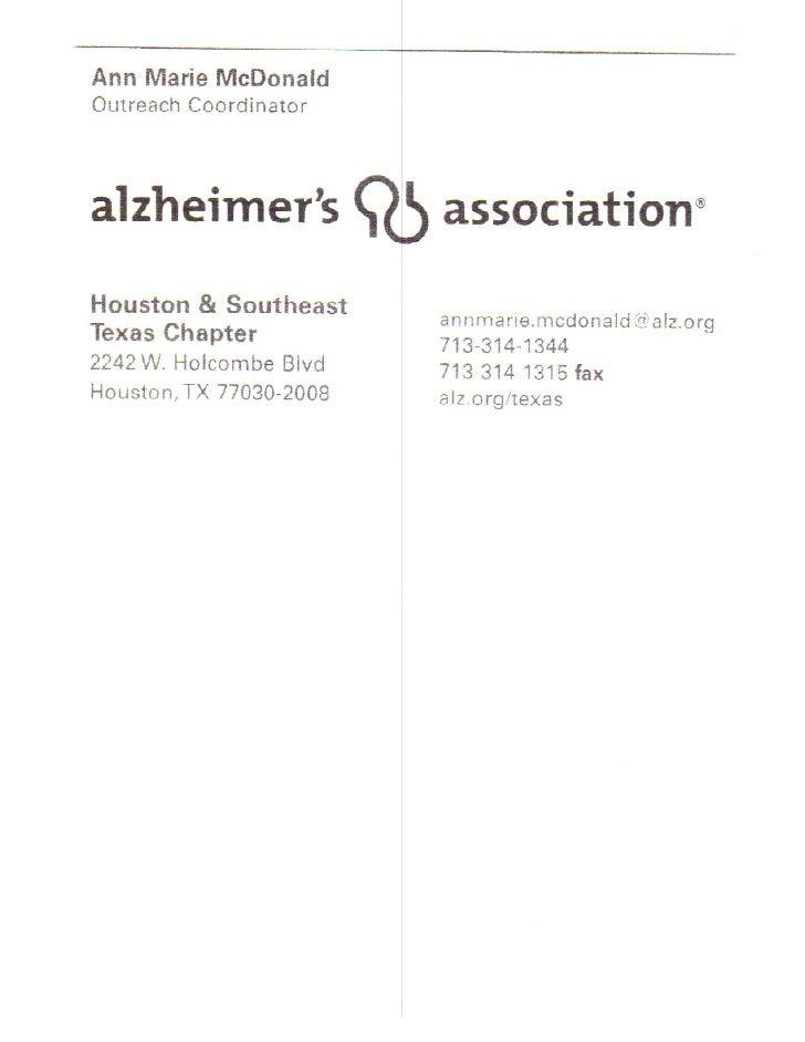 Alzheimer's Info
