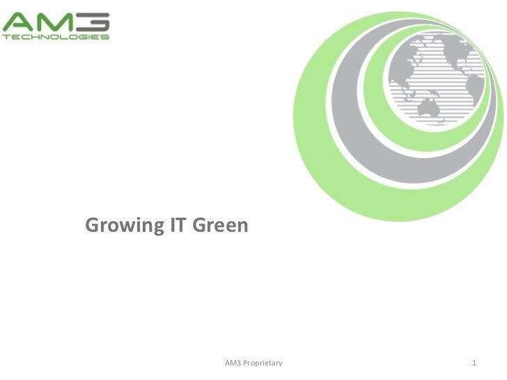 Green IT/Cloud Computing