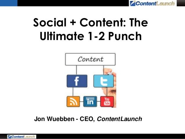 Social + Content: The Ultimate 1-2 Punch (from AMA