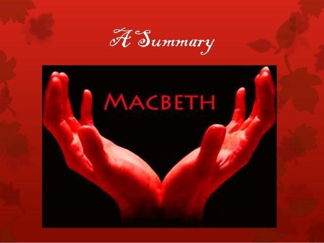 A macbeth   a summary