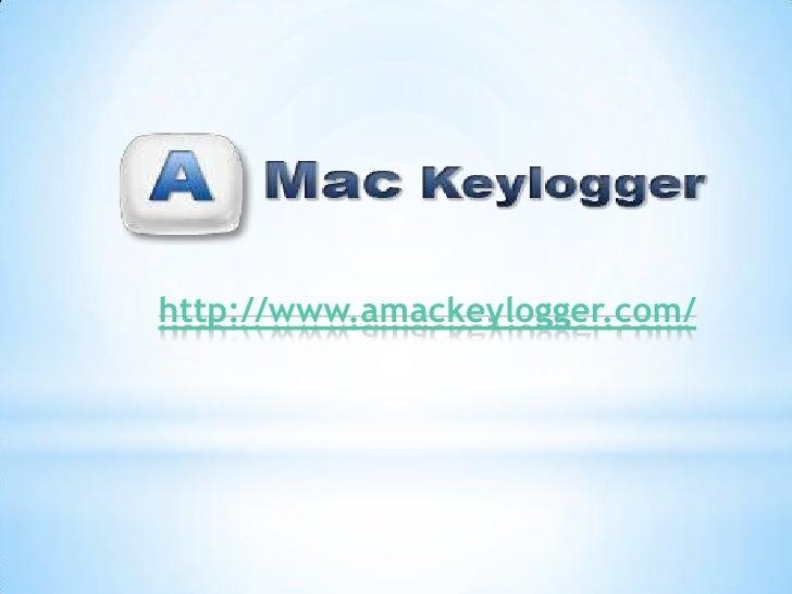 Amac keylogger for Mac OS X