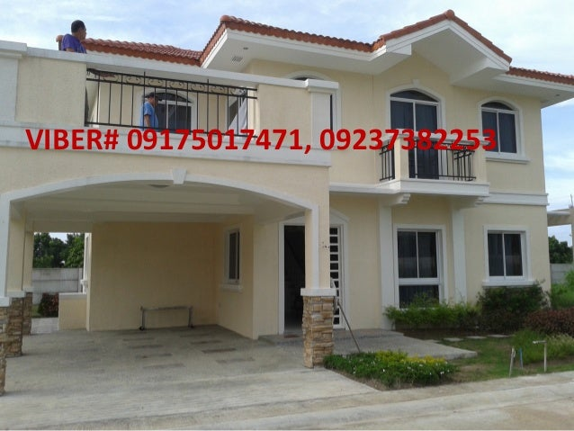 Amadea model in Rivabella subdivision, Sherwood hills golf community subdivision, house and lot in cavite, quality houses in cavite