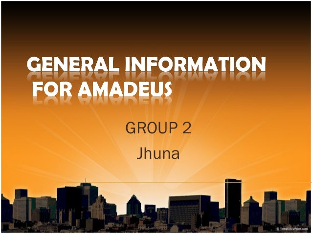 Amadeus general knowledge
