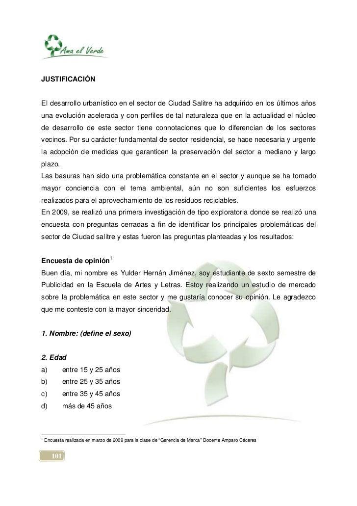 JUSTIFICACIÓNEl desarrollo urbanístico en el sector de Ciudad Salitre ha adquirido en los últimos añosuna evolución aceler...