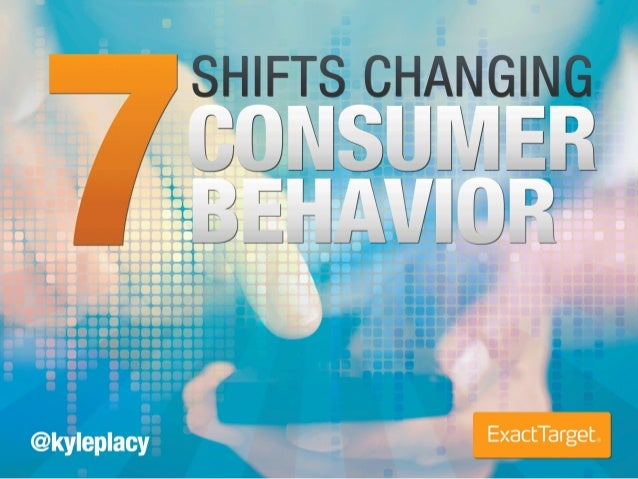 7 Trends Changing Consumer Behavior
